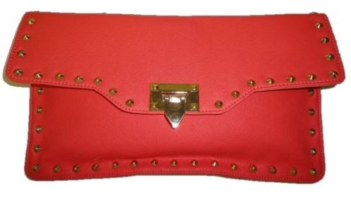 Genuine Baggage - MissCo Studded Clutch, $29.99 (http://www.genuinebaggage.com.au/new-arrivals/missco-studded-clutch/)