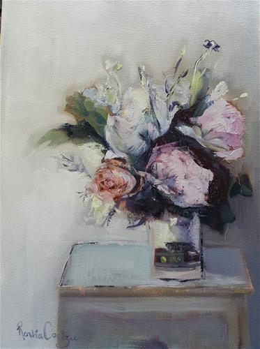"Daily Paintworks - ""Colour me beautiful"" - Original Fine Art for Sale - © Rentia Coetzee"