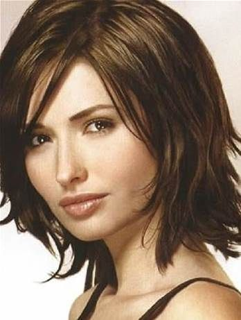 Superb Medium Hairstyles For Women Over 40 With Fine Hair And Round Face Short Hairstyles Gunalazisus