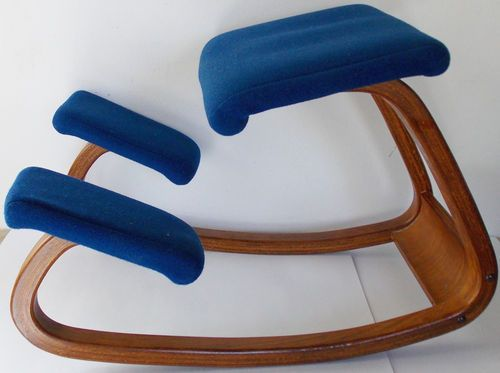 Variable Balans Ergonomic Kneeling Chair Made In Norway By