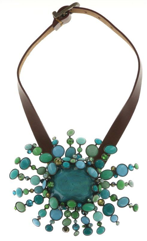 KONPLOTT Halskette Alien Caviar grün