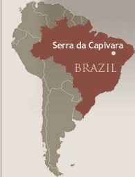 Pedra Furada Serra da Capivara Brazil