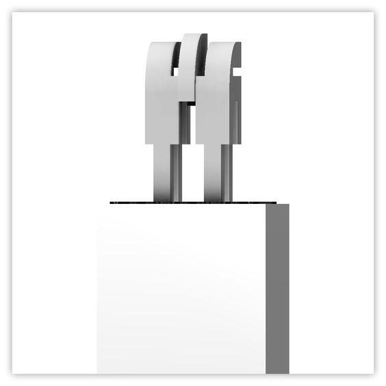 Concept for Model Citizen – Assembled 3d Prints