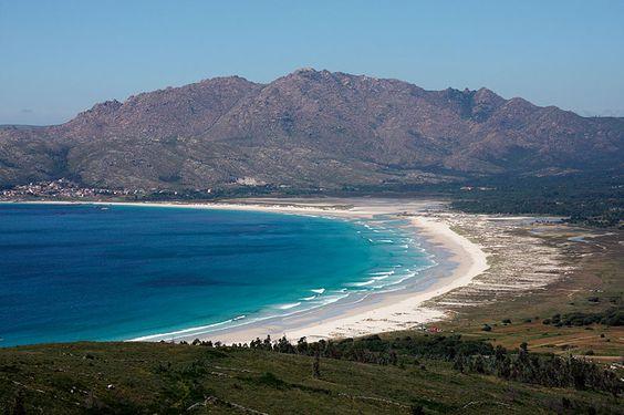 Playa de Carnota, la más larga de Galicia