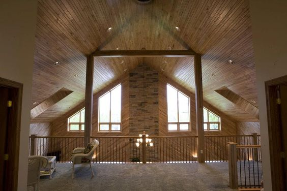 Loft Spaces Loft And Morton Building Homes On Pinterest