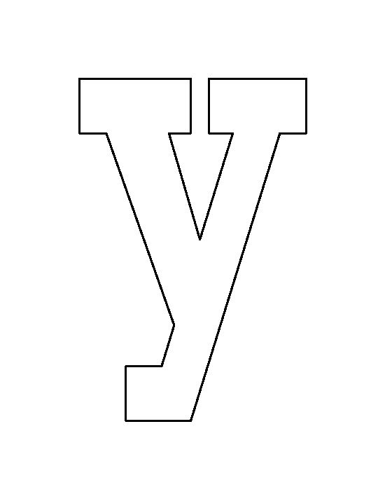 letter y template printable  16+ [ Letter Y Template ] | Alphabet Letter Y Template For ...