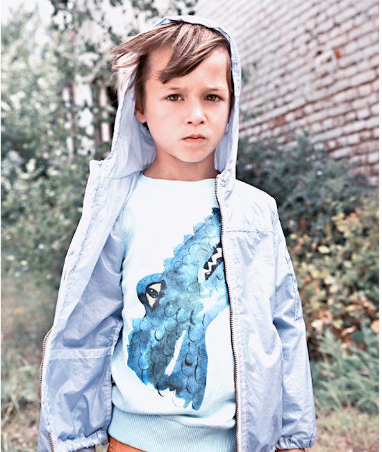 Moda de Bélgica para niños, Morley colección SS