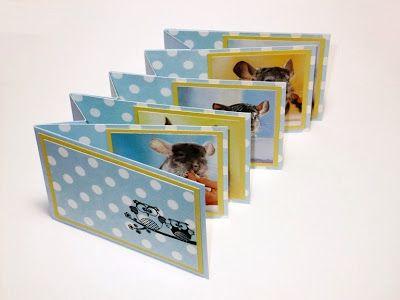 bero arts Blog: Anleitungen Mini-Album   fold out mini album tutorial