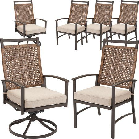 Patio Garden Patio Dining Chairs Comfortable Dining Chairs