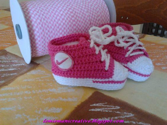 Sneakers neonata
