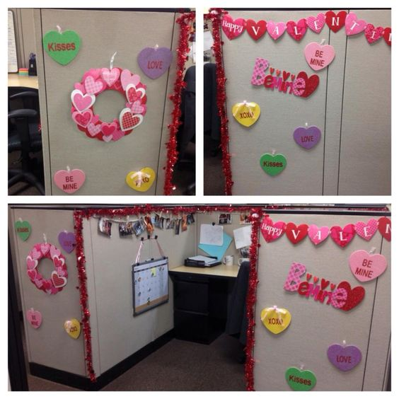 17 Best Images About Valentines Office Decorations Ideas