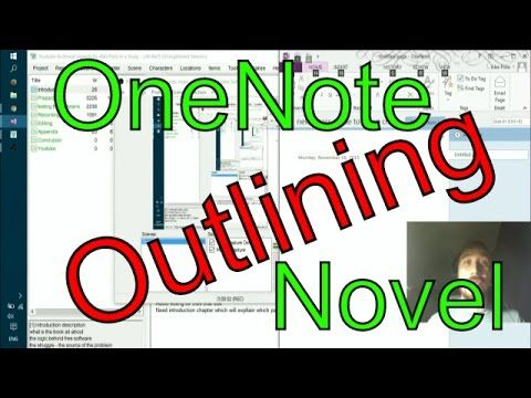 Write a novel in OneNote - outlining and logic structure. | BizProg