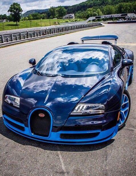 Bugatti Veyron Grand Sport Vitesse Bugattisupercar Mobil Sport