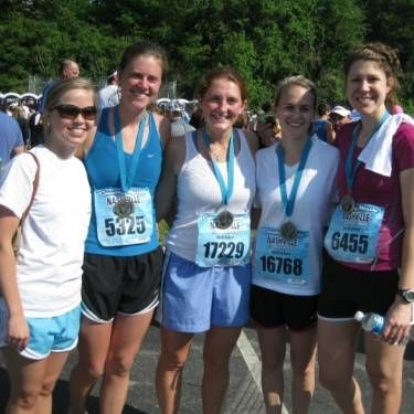 Katie is also running the NYC marathon in honor of CCBF this year!