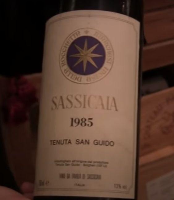 Sassicaia 1985 Tenuta San Guido