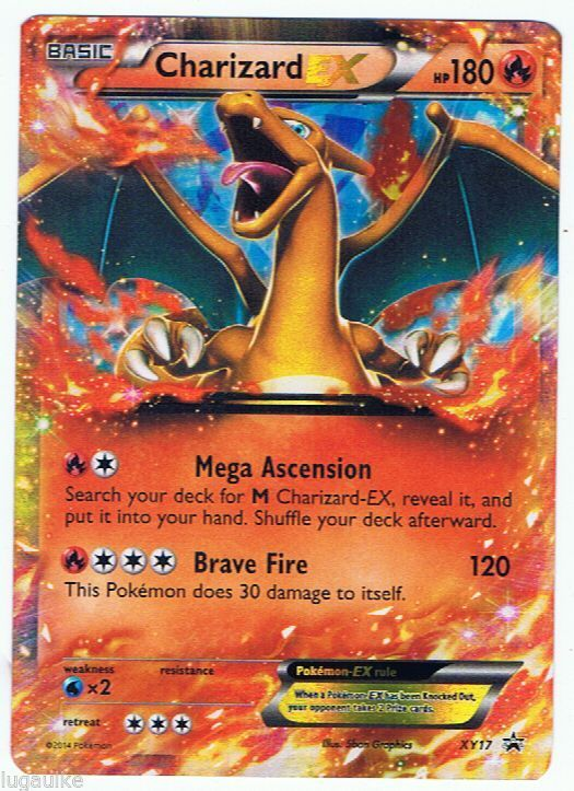 #Pokemon Card Rare Holo Promo #Charizard EX XY17 FREE Combined Shipping see more of our cads for sale at http://stores.ebay.com/DDs-Pokemon-Card-and-Gift-Shop
