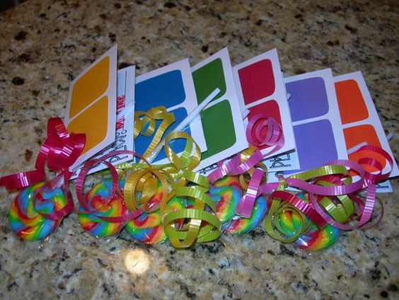 Candy Land Invites