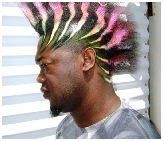 Surprising Mohawk Hairstyles Black Men And Mohawks On Pinterest Hairstyle Inspiration Daily Dogsangcom
