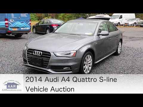 2014 Audi A4 Quattro S Line 4 Cylinder 2 0l Turbo With An Automatic Transmission Leather Interior With A Brushed Aluminum Trim Power Audi A4 Audi Jeep Pickup