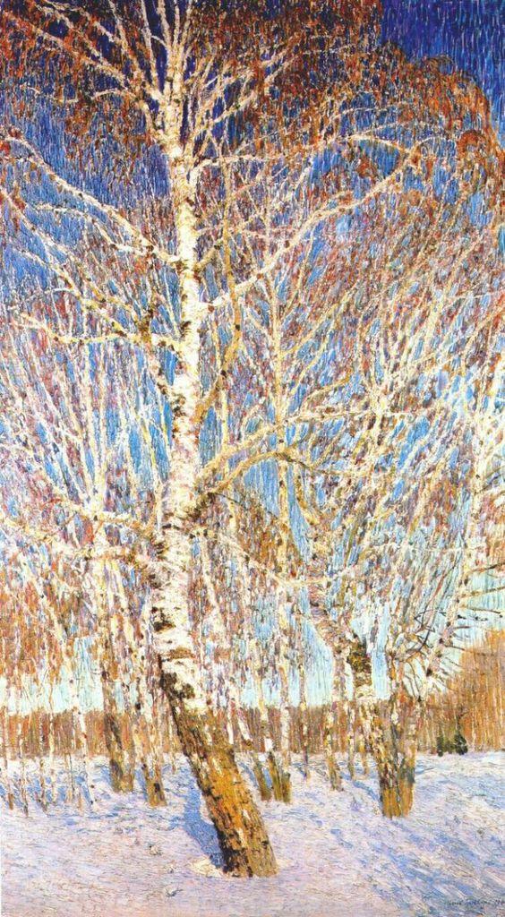 Игорь Грабарь: grabar february sky 1904