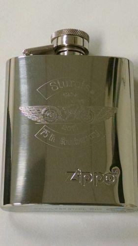 sturgis 75th anniversary custom engraved flask #engraving #customengraving # sturgis #sturgis75th #zippo