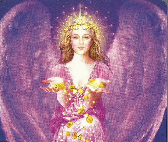 Angel Daily Guidance Channeled Tarot Card by AngelzMessages, $14.99