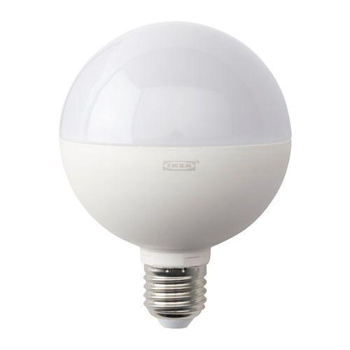Simple LEDARE LED bulb E lumen IKEA Approximately equal to a watt incandescent bulb