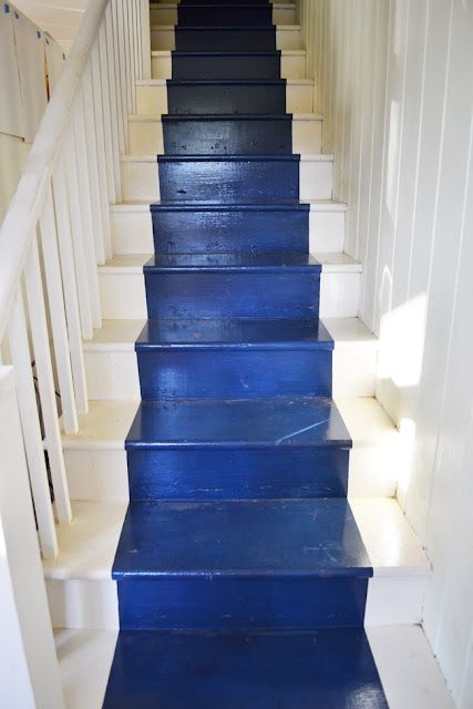 Painted Stair Runner how to