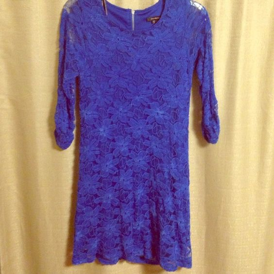 Lace dress Cute girls lace dress with a few stains but not noticeable. Used only once with love. My Michelle Dresses