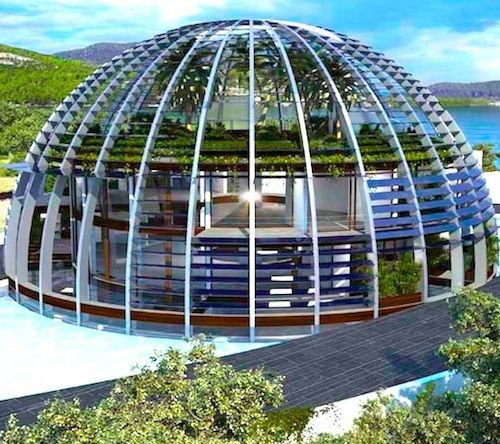 solar systems ahaped dome -#main