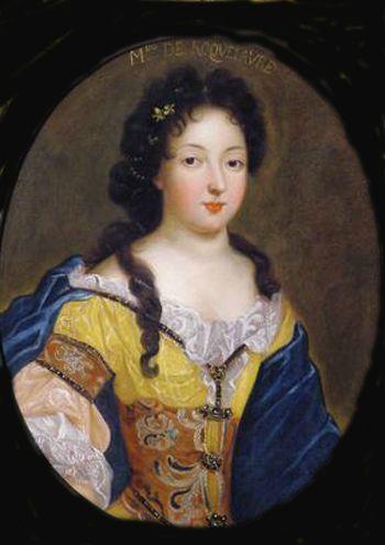 Dame Marie Louise de Montmorency-Laval, 2ème. Duchesse de Roquelaure.