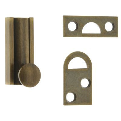 idh by St. Simons Solid Brass Surface Bolt Finish: