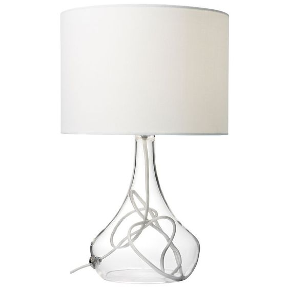 John Lewis Jolie Table Lamp, White - £35