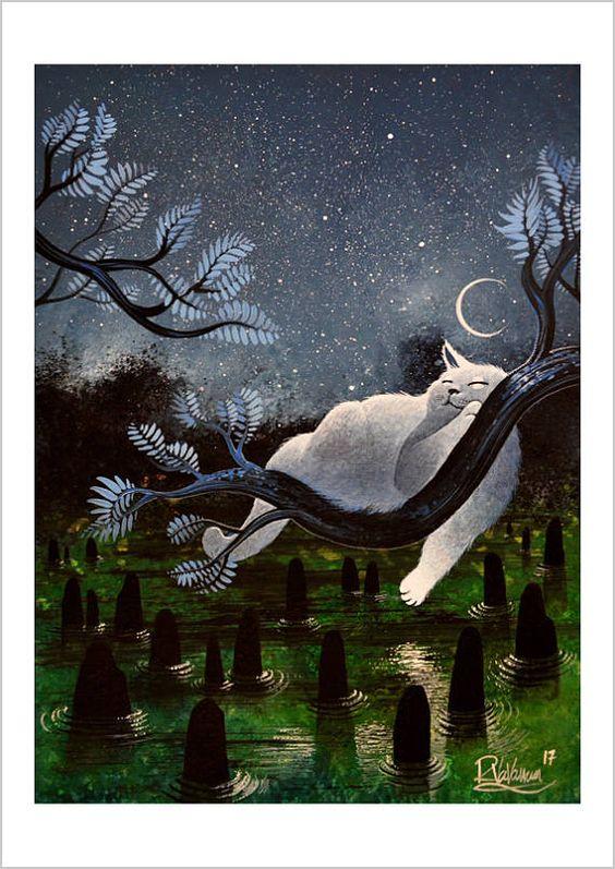 Dormir sous la lune