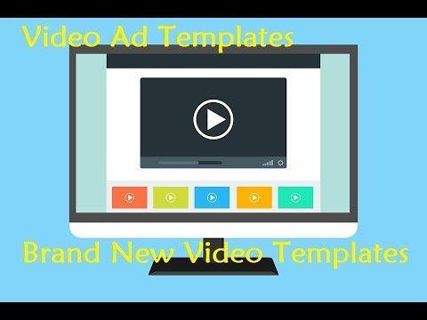 Video Ad Templates Brand New Video Templates Viddictive - Video ad templates