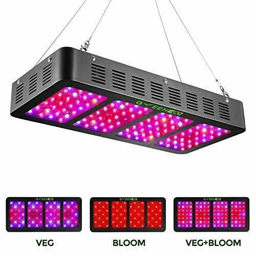 1200w Led Grow Light With Veg Bloom Switch Greengo 3 Chips Led Plant 1200watt Greengo In 2020 Best Led Grow Lights Led Grow Lights Led Grow