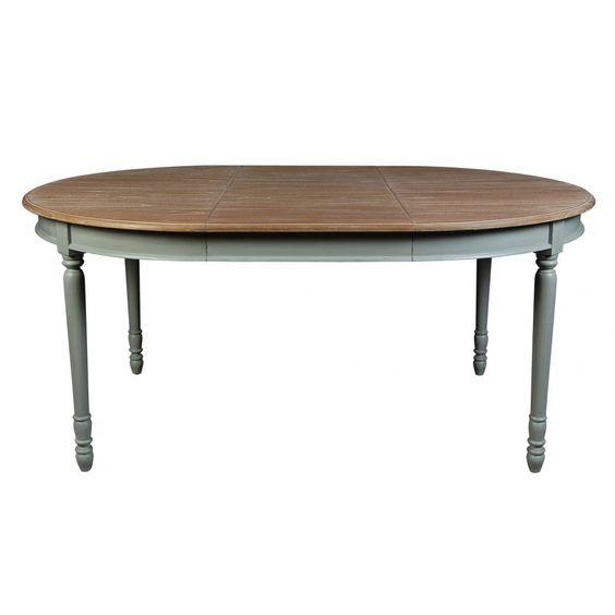Table manger romane ronde extensible d120 170 cm for Acheter table a manger