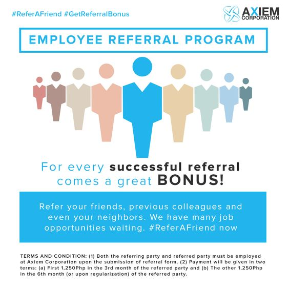 YouD Be An Asset To This Company And An Employee Referral Bonus