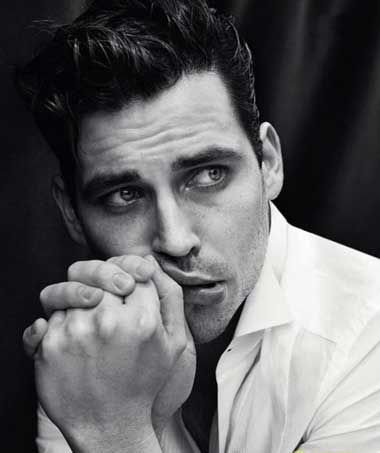 Rob James-Collier, Downton Abbey, sporting quite an elvis hairstyle!