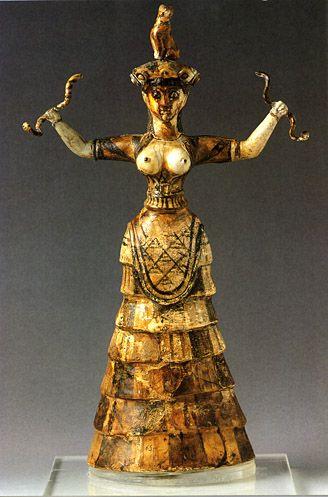 Minoan Snake Goddess Essay Checker - image 3