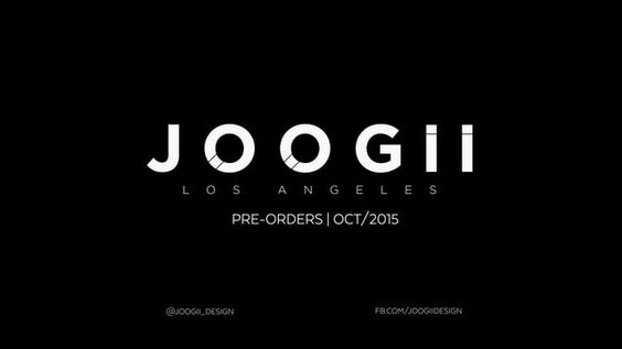 JOOGII J1 pre-orders start in OCT/2015.