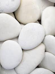 Piedras!, ¿Cómo no se me había ocurrido? Piedras blancas ...