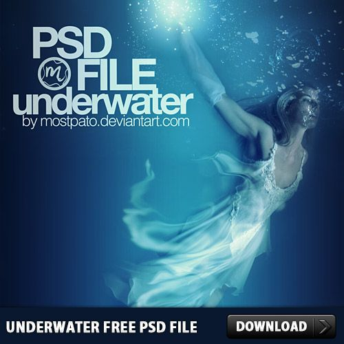Nice Underwater Free PSD File. Download this Underwater Free PSD ...