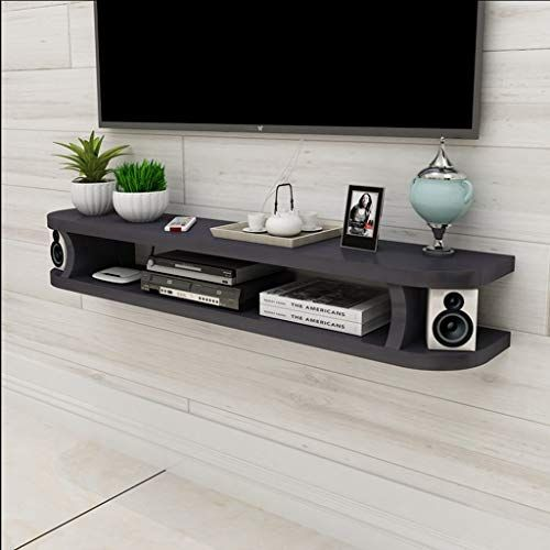 Wall Shelf Floating Shelf Wall Mounted Tv Cabinet Tv Stand Sky Box Set Top Box Game Equipment Small Electron Floating Shelves Tv Wall Shelves Floating Cabinets