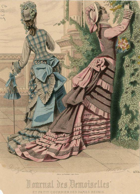 Journal des Demoiselles 1875: