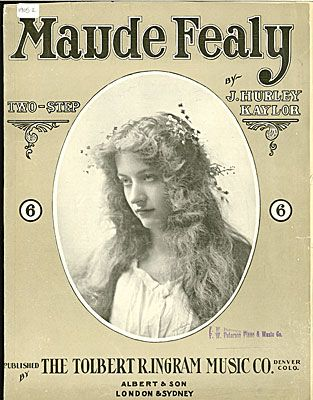 Maude Fealy : two-step 1905 sheet music.