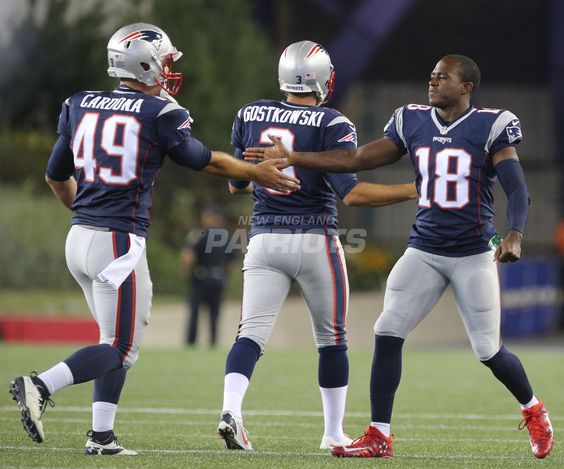 The New England Patriots take on the Chicago Bears in a preseason game at…