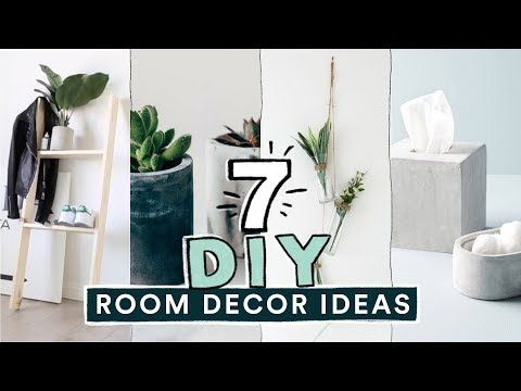 367 7 Diy Easy Room Decor Ideas Pinterest Inspired Lone Fox Youtube Diy Room Decor Tumblr Room Decor Easy Room Decor