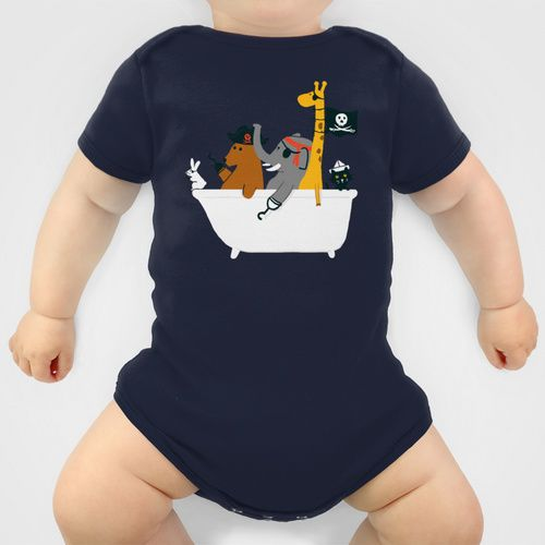 Everybody wants to be the pirate Baby Clothes