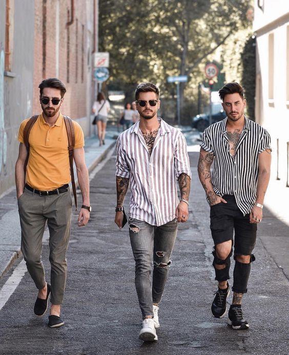 Inspirações moda masculina sensacional